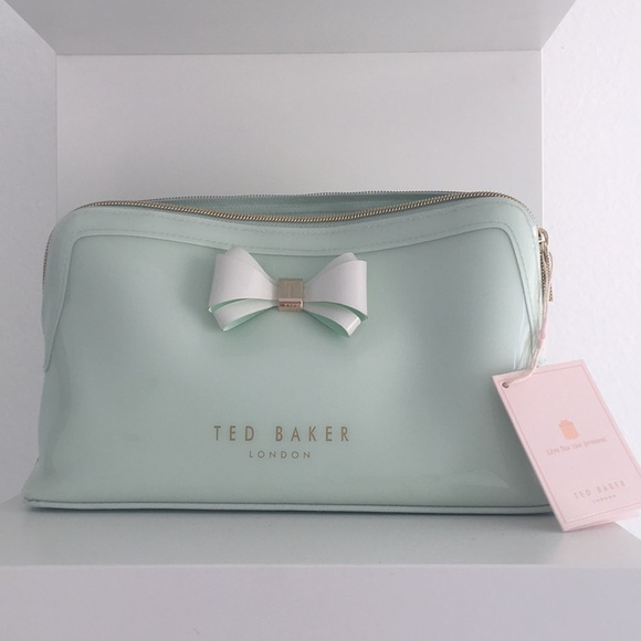 Ted Baker Handbags - Ted baker mint makeup bag